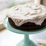 Chocolate Carrot Cake with Salted Caramel Frosting