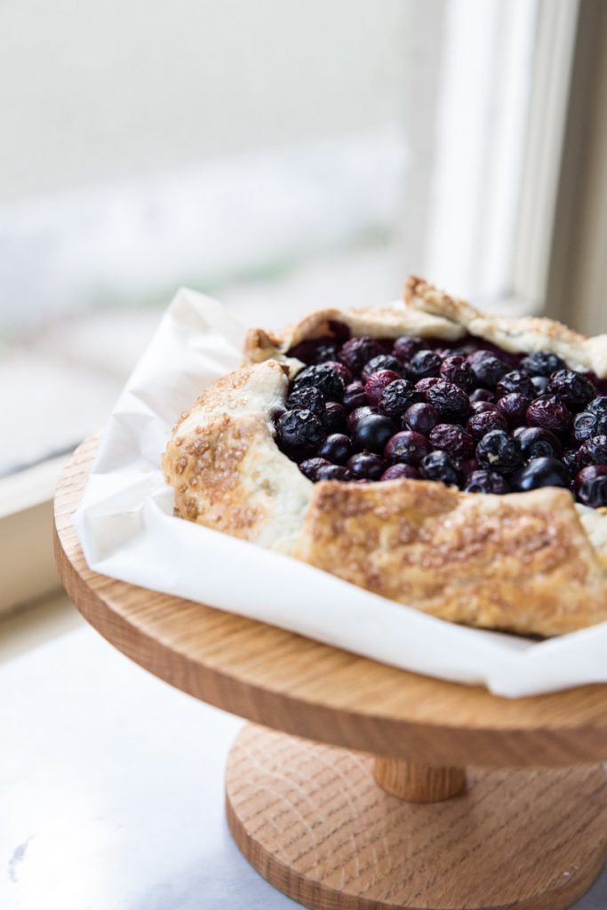 This Blueberry Galette is a simpler way of making pie and you can even make the frangipane filling in a blender