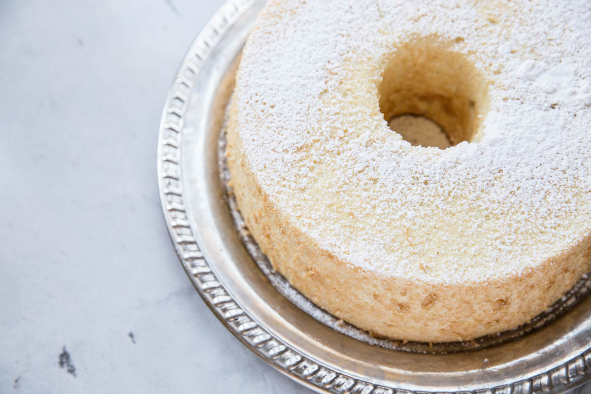 Here's an homemade Angel Food Cake made without all of the preservatives found in store bought versions!