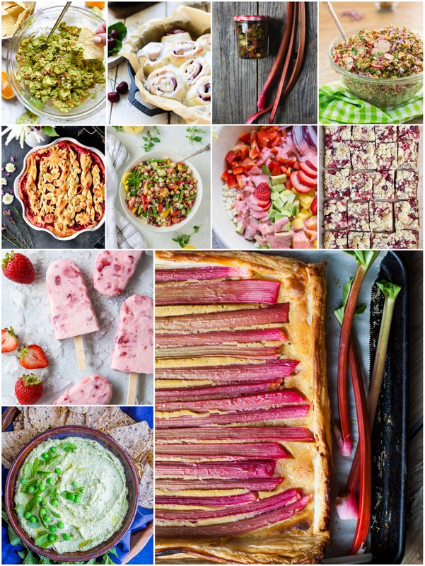 Healthy Seasonal Recipes from bloggers
