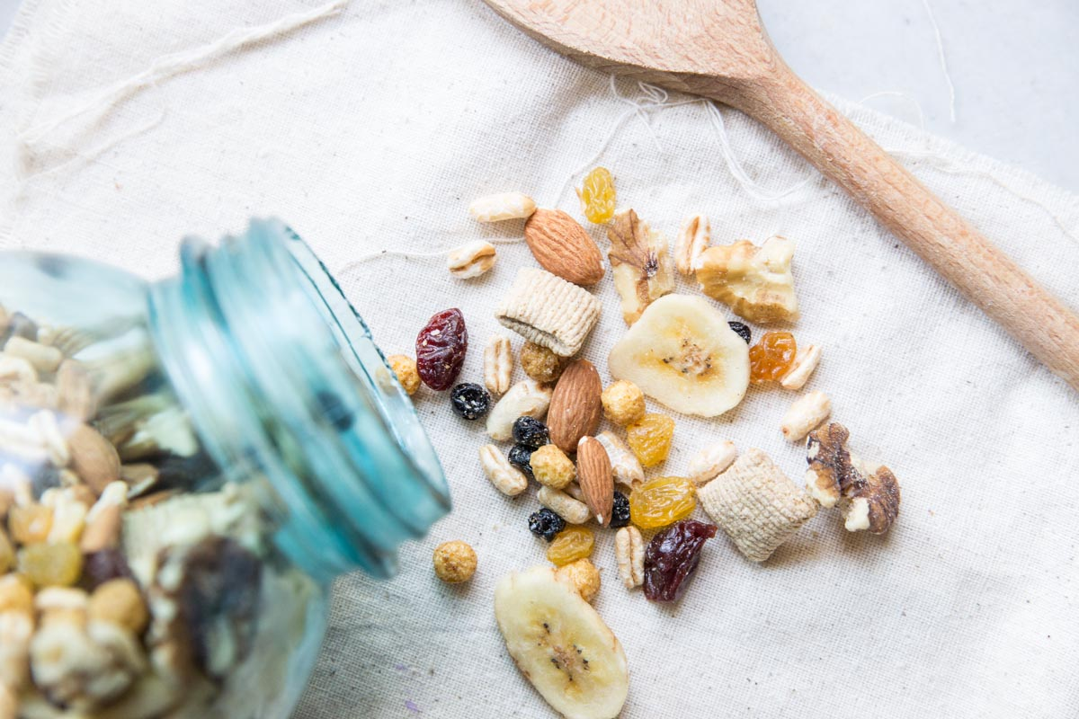 My whole family loves this healthy trail mix!