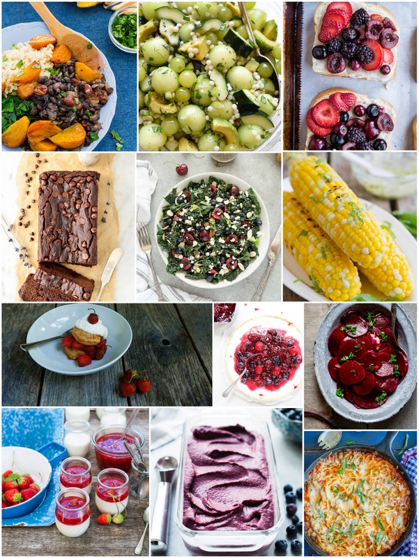 These are all great seasonal and healthy recipes from blogs