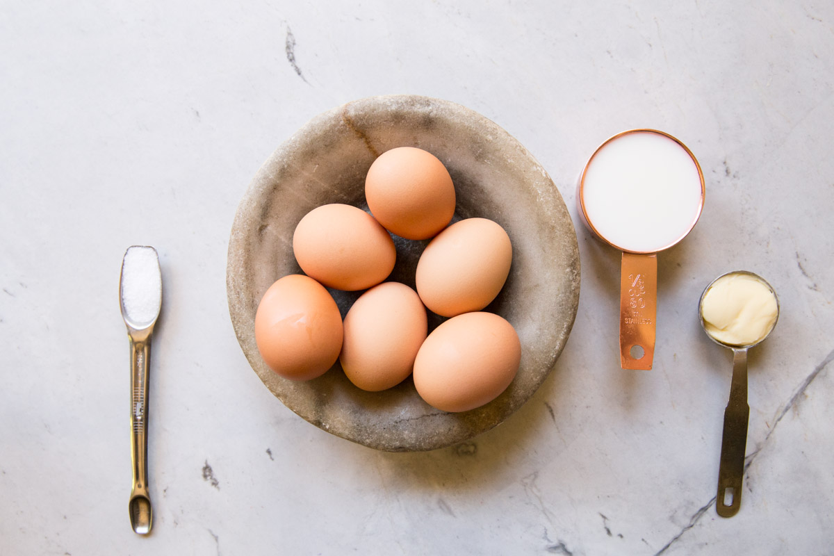 Find out the secrets to perfectly scrambled eggs