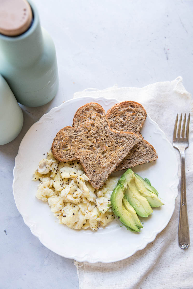 Heres a simple recipe for perfect soft scrambled eggs