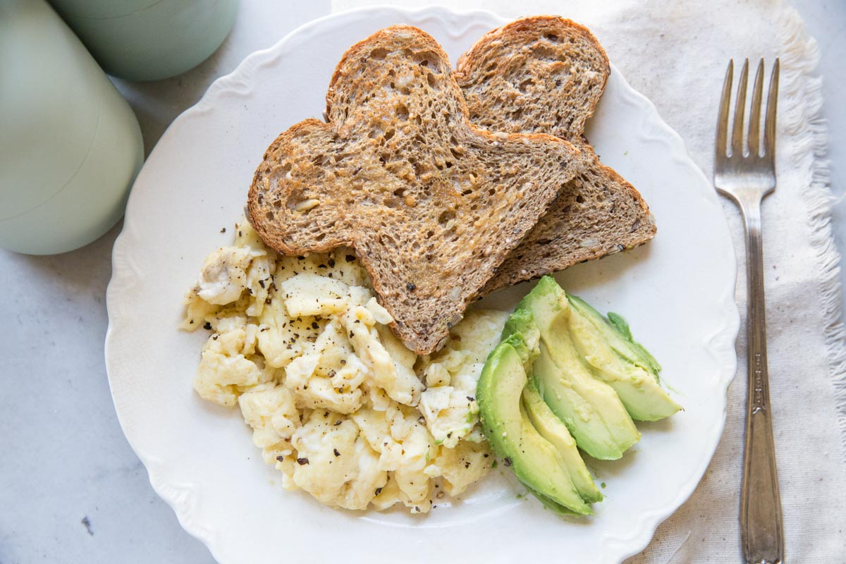 How to make restaurant style soft scrambled eggs vintage mixer heres how to make restaurant style soft scrambled eggs at home forumfinder Choice Image