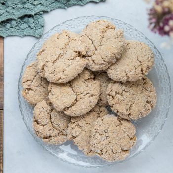 These vegan and gluten free almond butter cookies are the kind of cookies you want to always have around your house.
