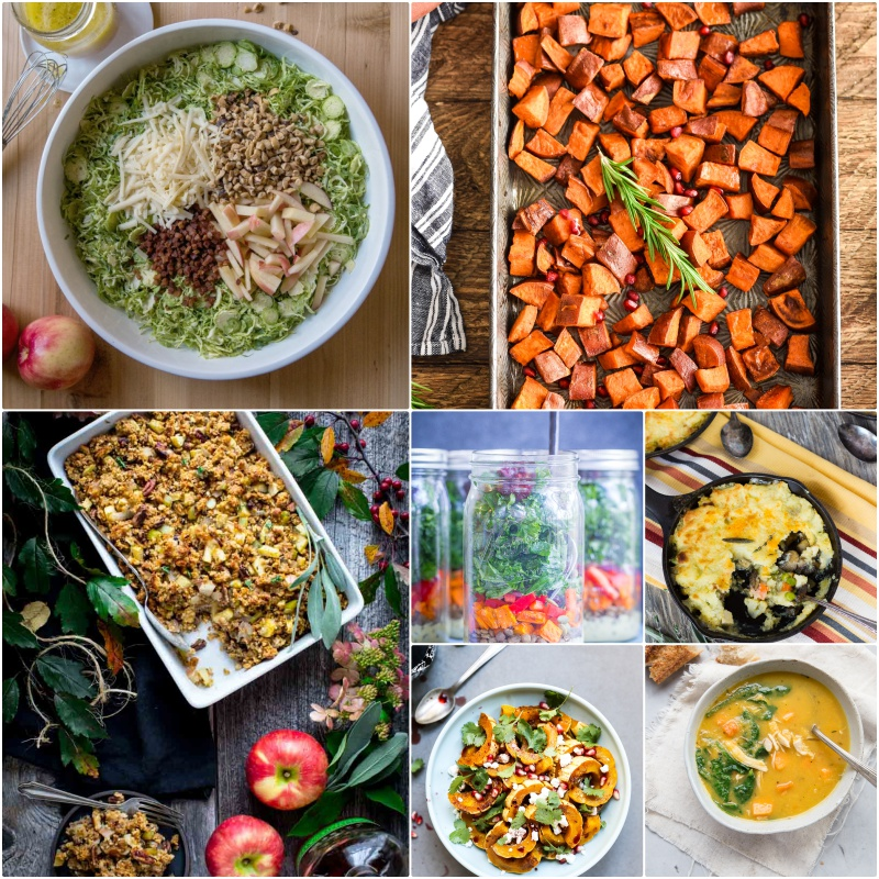 Here are bloggers best seasonal recipes for November. These make great holiday side dishes.