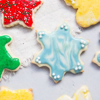 This is the best Christmas Cut Out Cookie Recipe that I've ever made!