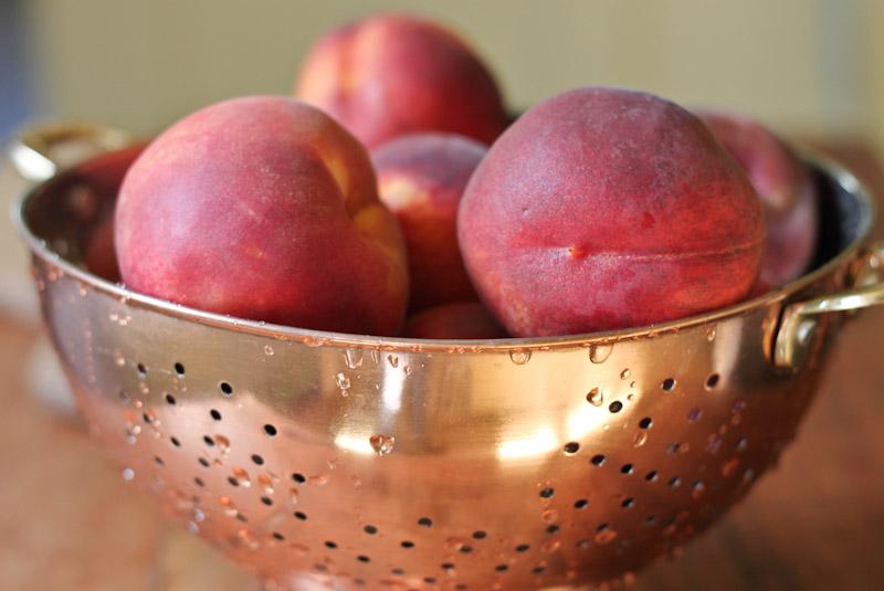 rustic peach jam recipe