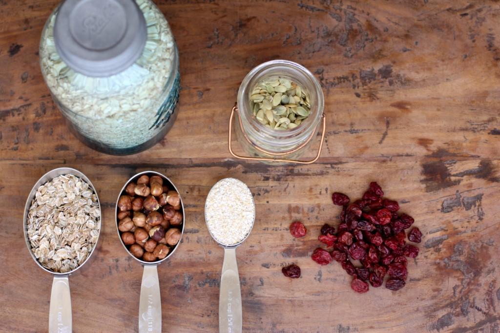 Homemade Muesli Recipe Ingredients
