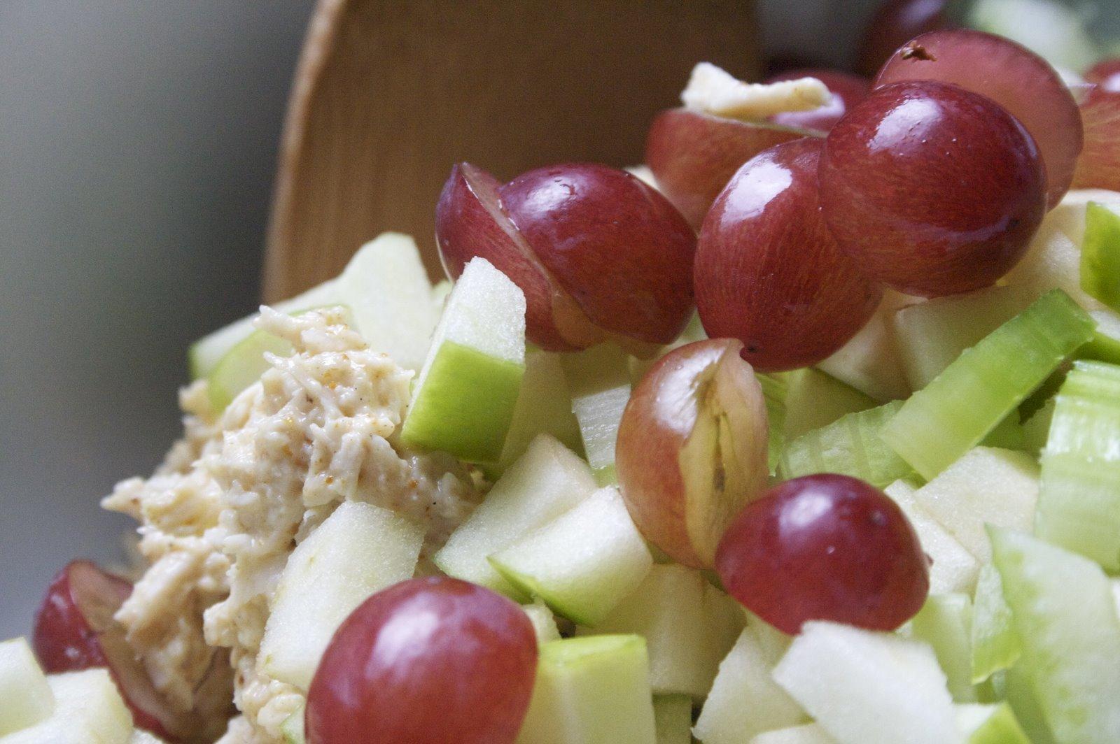 Coconut Curry Chicken Salad
