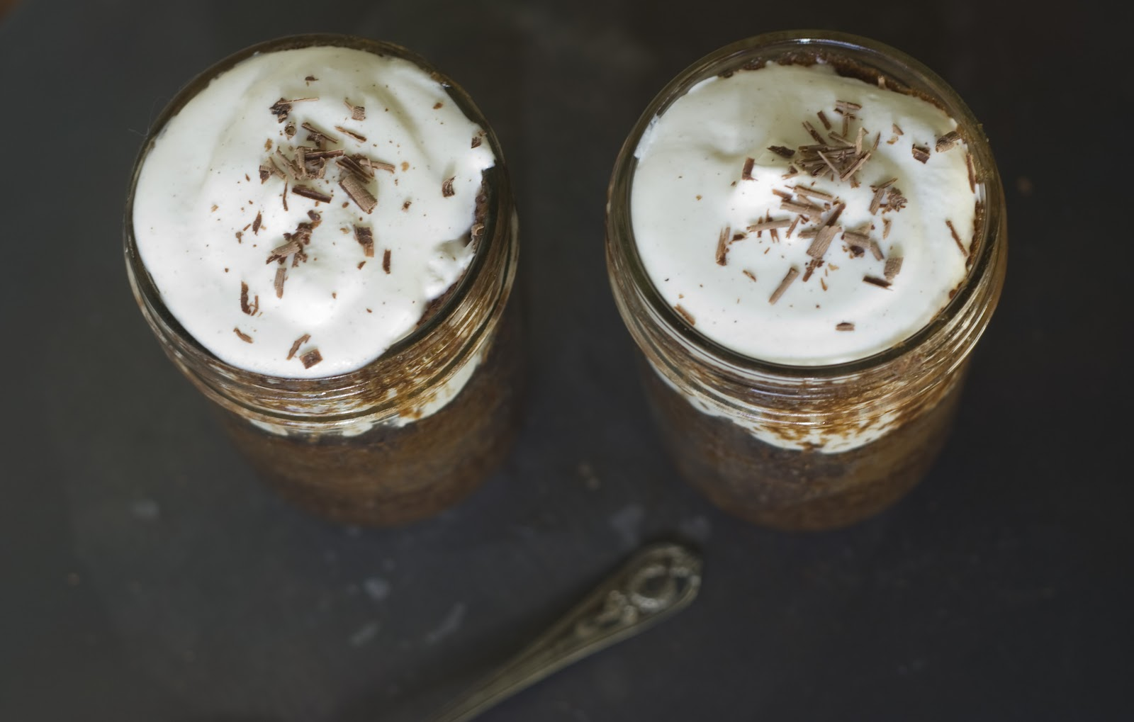 Mexican Hot Cocoa Cake in a Jar