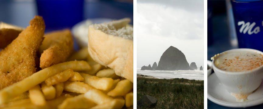 Moe's Seafood on Cannon Beach Oregon
