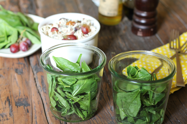 Spinach and Chicken Salad Recipe
