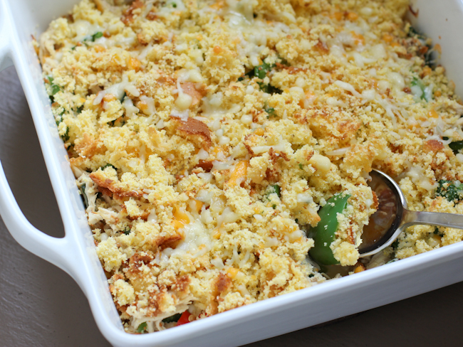 Cornbread Chicken Casserole Recipe