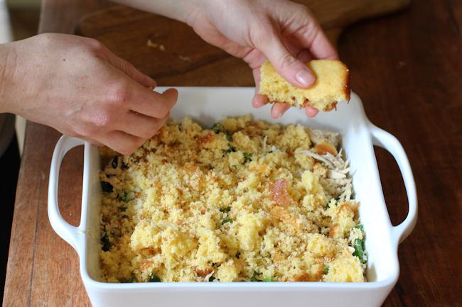 Cornbread Chicken Casserole Recipe