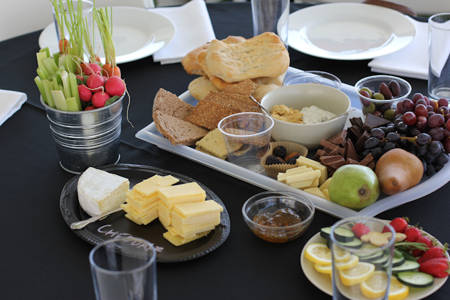 Easter Party Spread