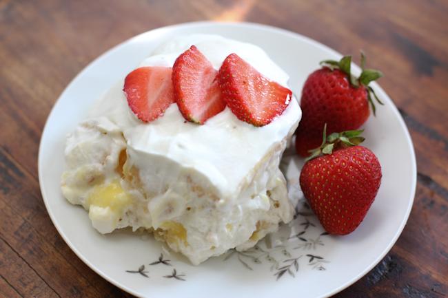 Lemon Ginger Icebox Cake Recipe