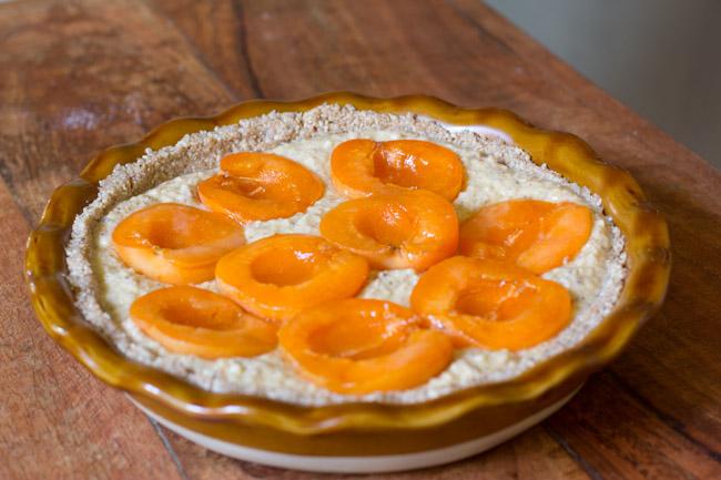 Apricot Hazelnut Pie Recipe