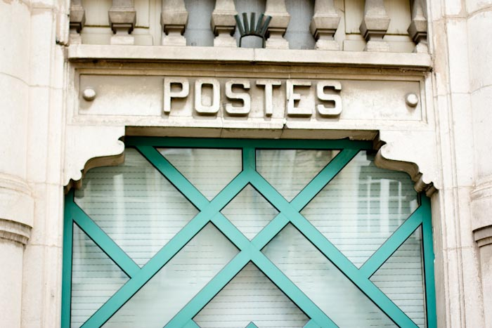Post Office in Beaune, France