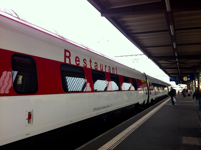 train from France to Italy