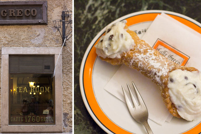 Caffe Greco in Rome
