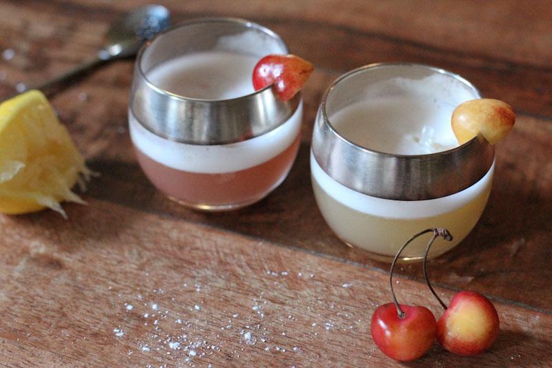 Cherry Boston Sour Cocktail Recipe
