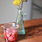Strawberry Pickled Radishes