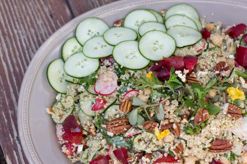 quinoa salad recipe for a crowd