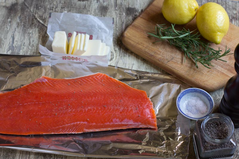 Grilled Wild Alaskan Salmon Recipe