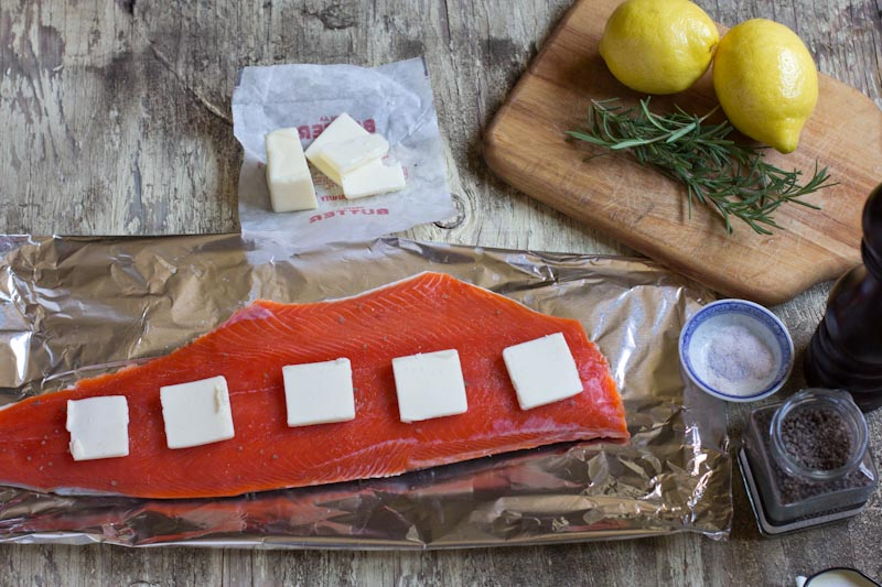 Wild Alaskan Salmon Recipe