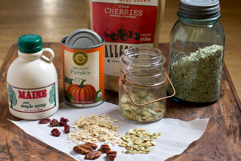 Pumpkin Maple Granola Recipe