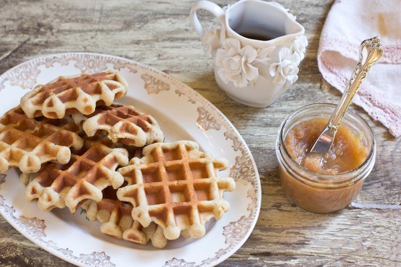 Gingerbread Waffle Recipe gluten free