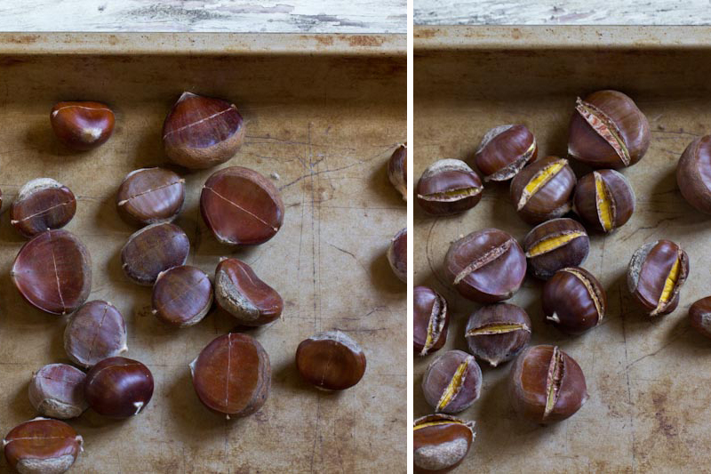 Rosted Chestnuts Recipe