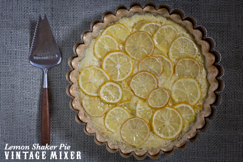 Lemon Shaker Pie Recipe