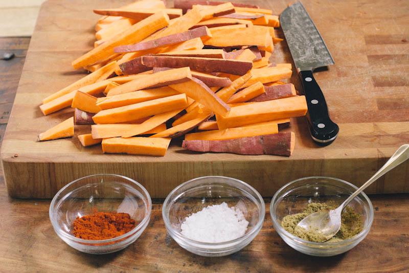 Healthy Sweet Potato Fries Recipe
