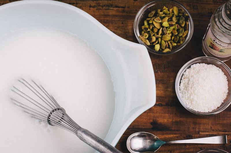 Meghli Lebanese Rice Pudding