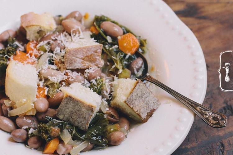 Tuscan Bread Bean Soup Recipe