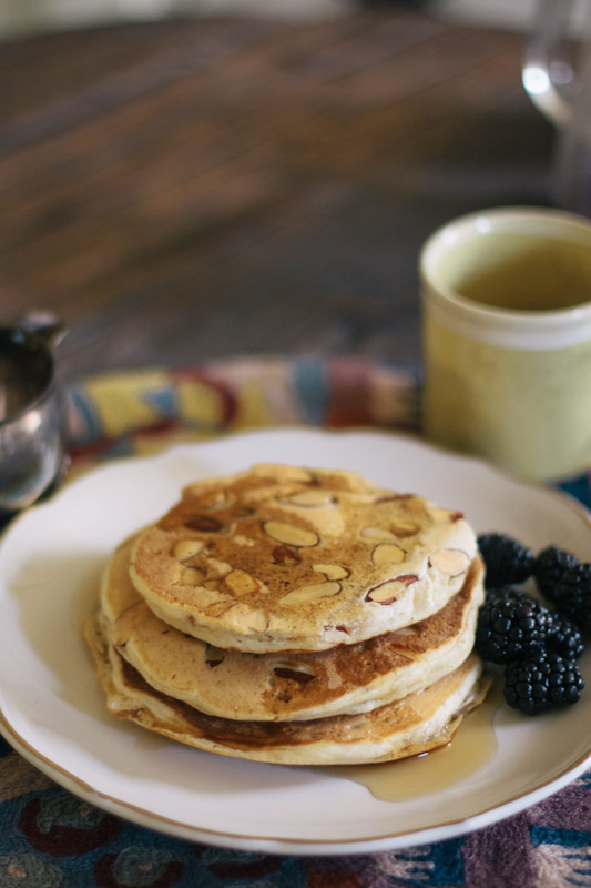Whole Wheat Almond Pancake Recipe