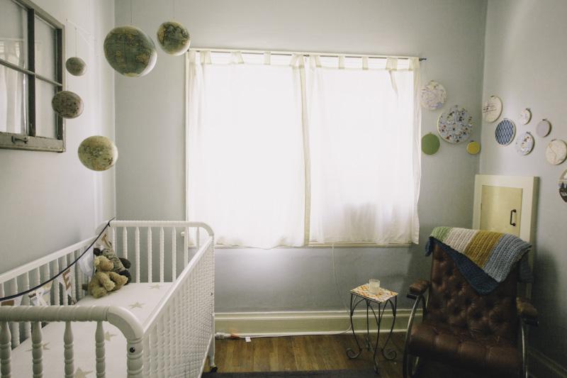 Globe Themed Nursery
