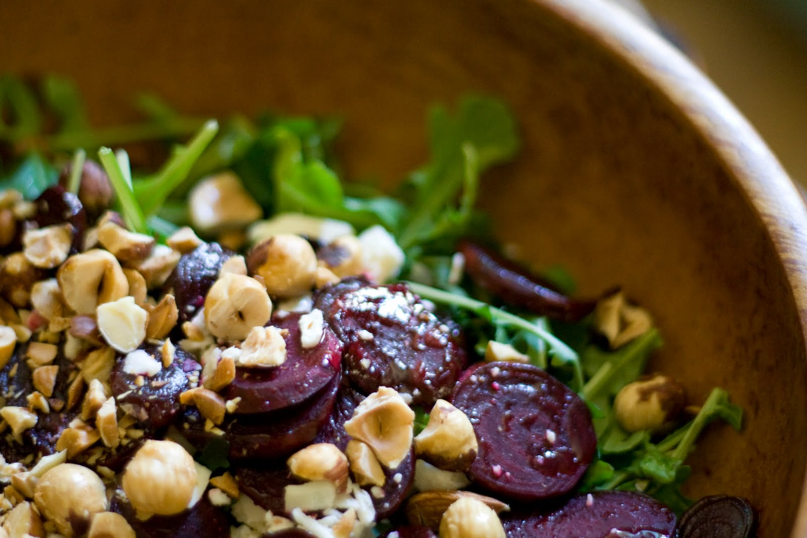 Roasted Beet and Hazelnut Salad Recipe