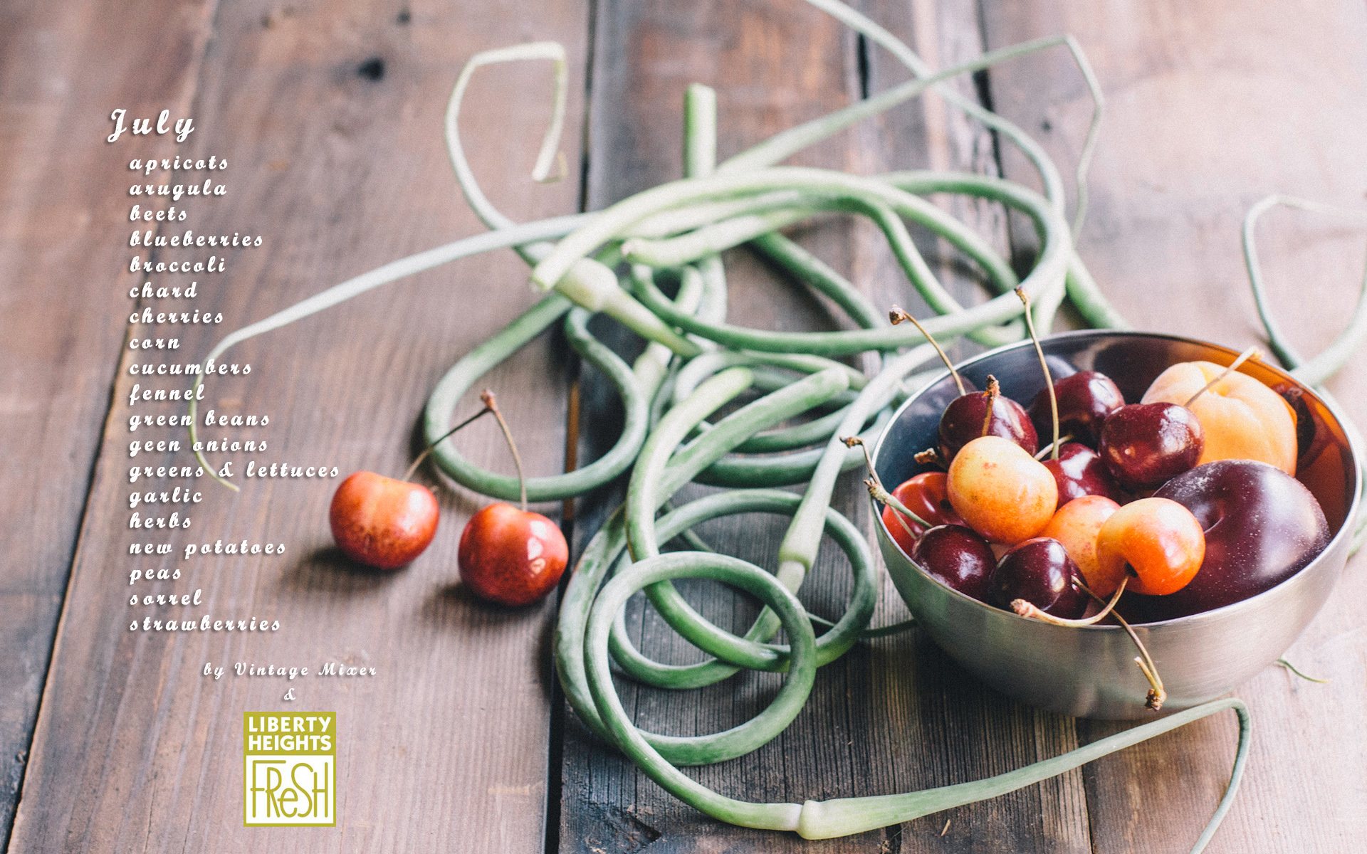 Seasonal Produce Guide for July
