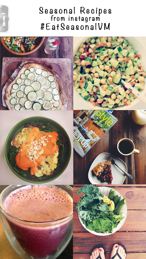 Seasonal Recipes from Instagram