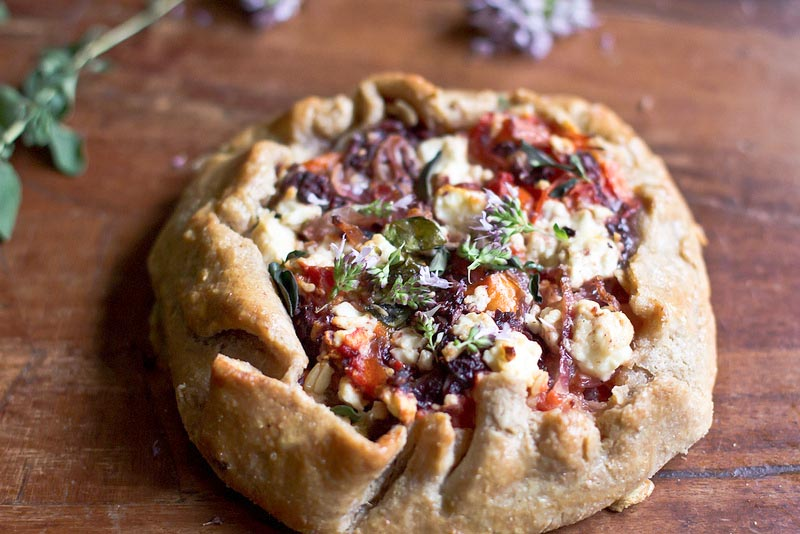 Tomato Tart Recipe • Farmers Market Recipe