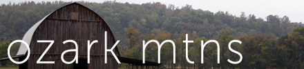 Vintage Mixer Travels - Ozark Mountains
