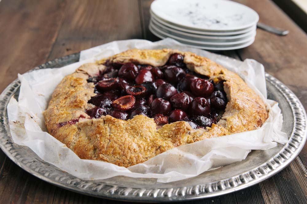 Cherry Hazelnut Galette Recipe
