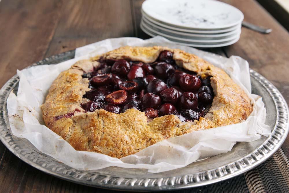 Cherry Hazelnut Galette Recipe
