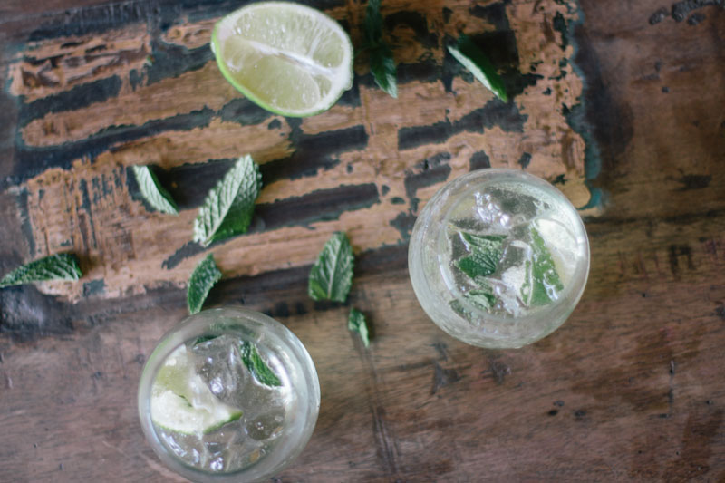 High West Silver Mojito Recipe • theVintageMixer.com