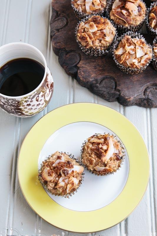 Vegan Banana Coconut Muffins