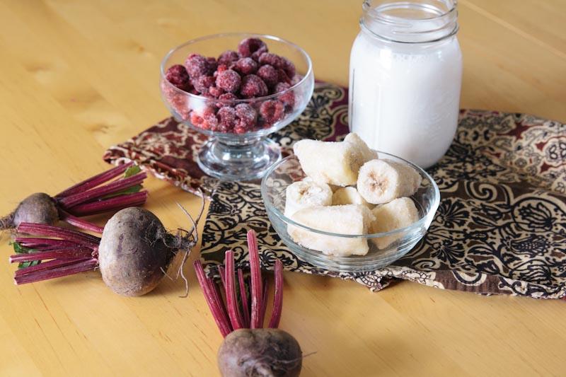 Beet Raspberry Banana Smoothie Recipe